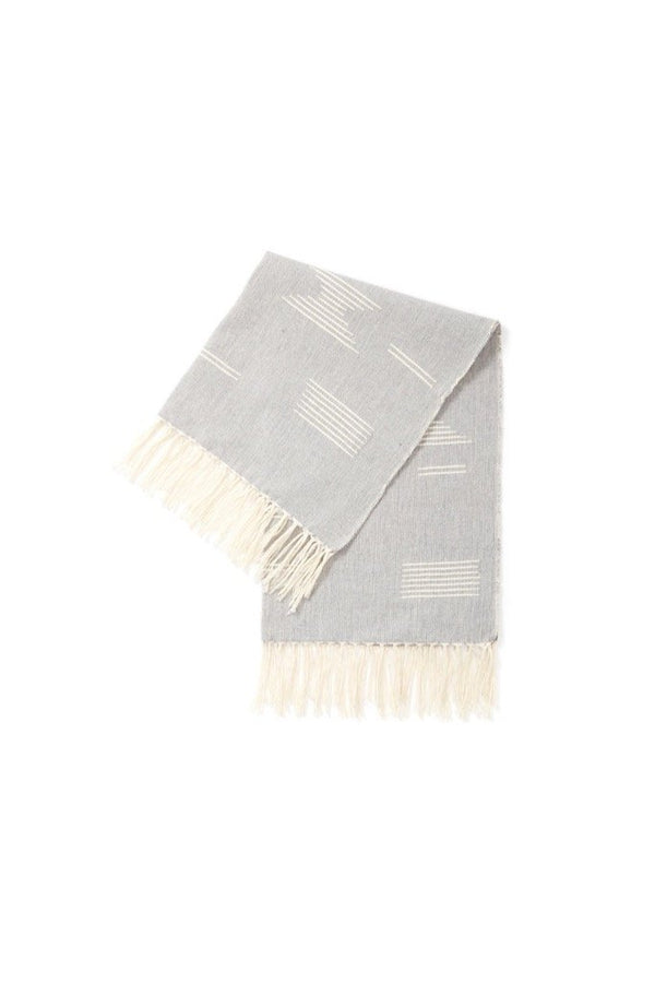 Grey Shapes Tea Towel