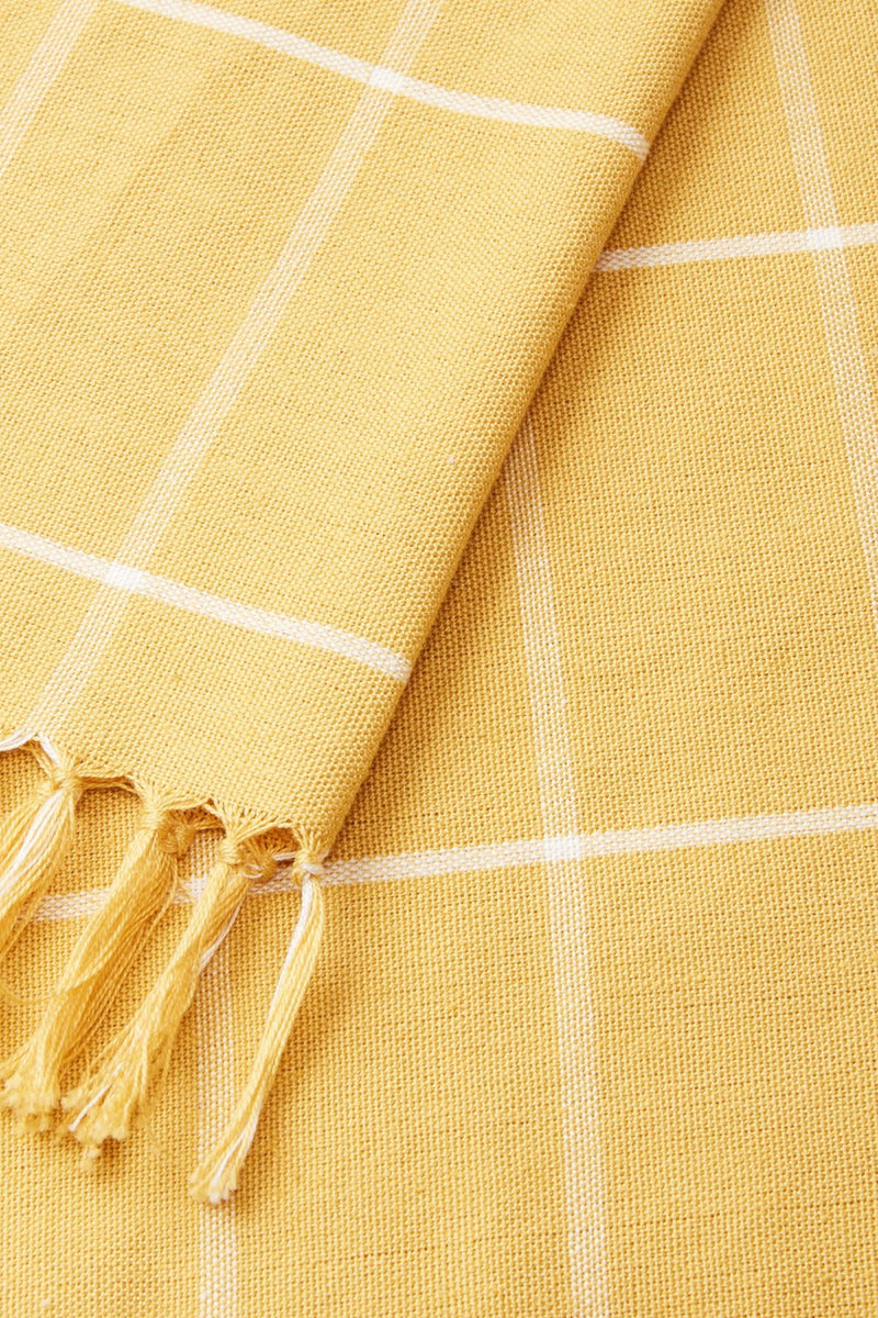 Gold Grid Towel
