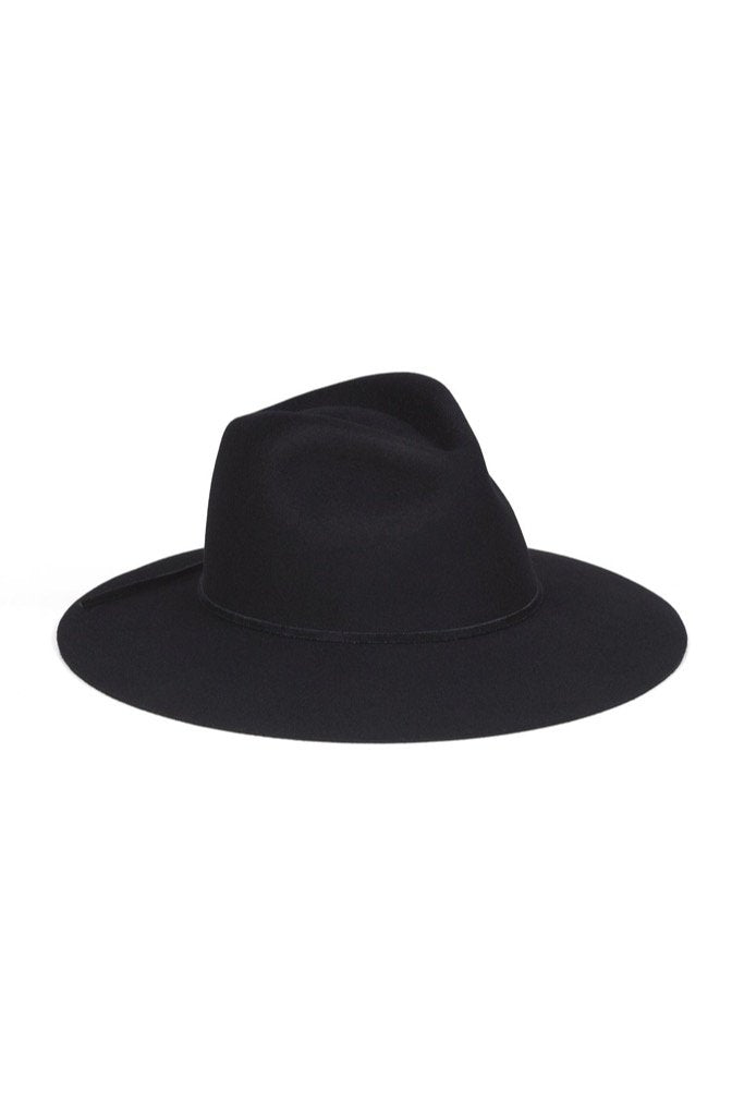 Black Paco Hat