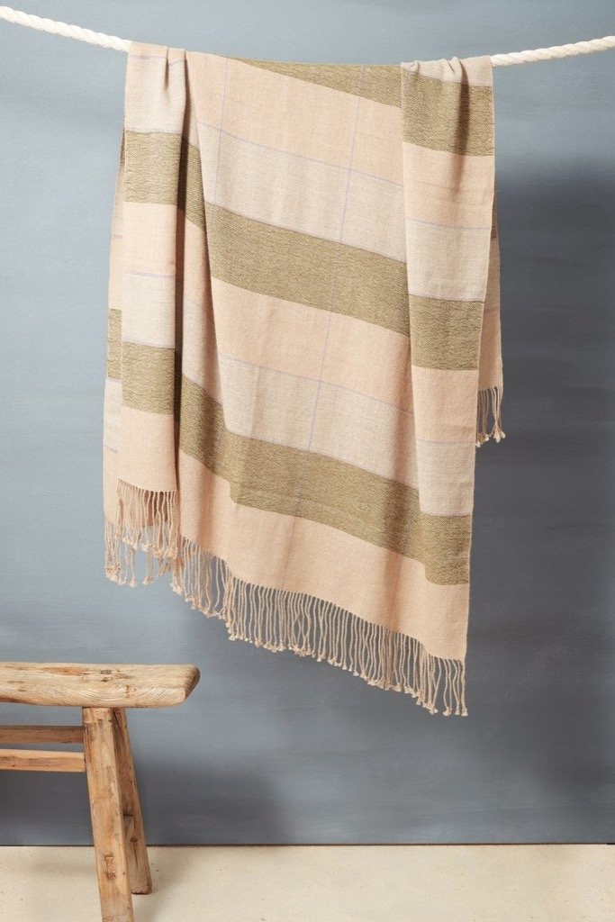 Fern Grid Throw
