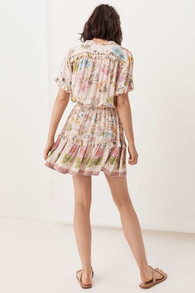 Cream Wild Bloom Playdress