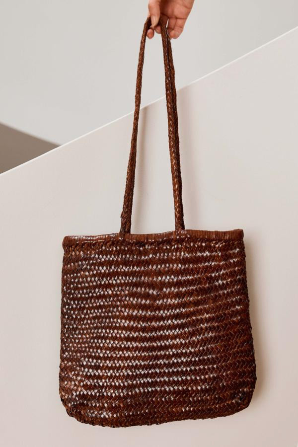 Antique Tan Bagu Tote