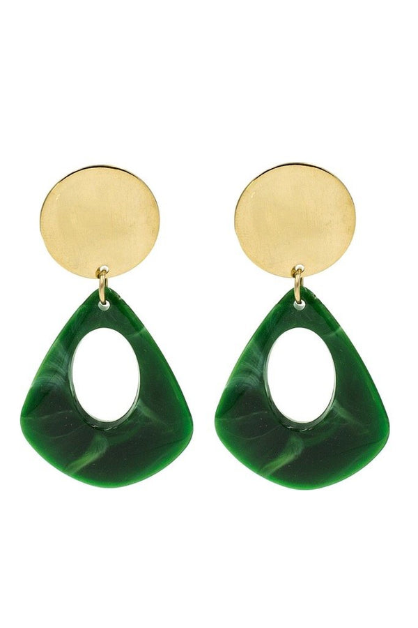 Jade Mod Earrings