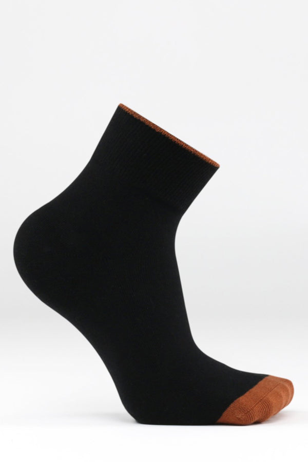 Black Centre Sock