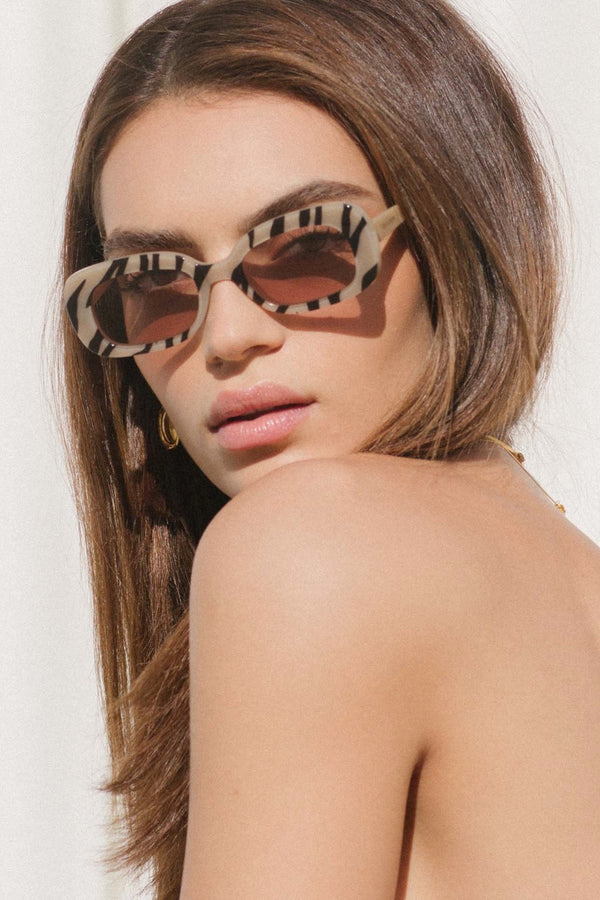 Tan El Tigre Sunglasses