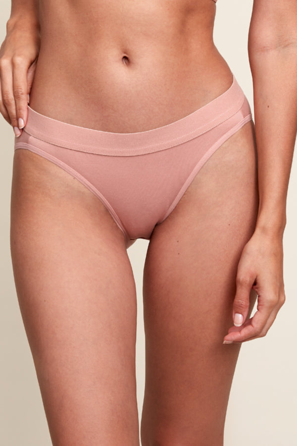 Blush Flat Brief