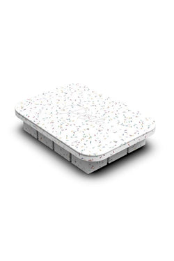 Speckled White Everyday Ice Tray