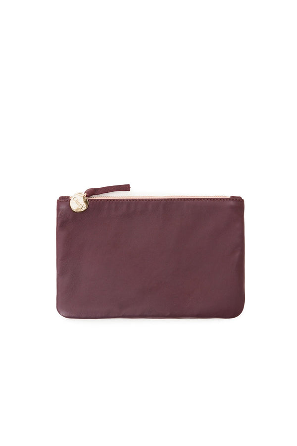 Plum Wallet Clutch