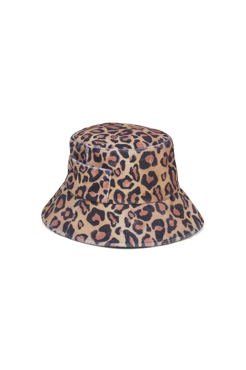 Leopard Wave Bucket Hat