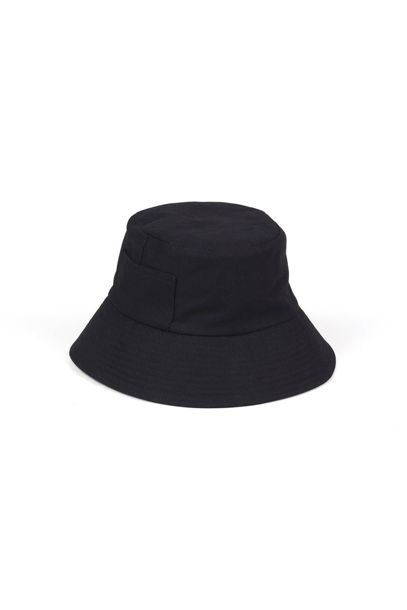 Black Wave Bucket Hat