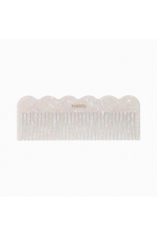 Pearlescent Wave Comb