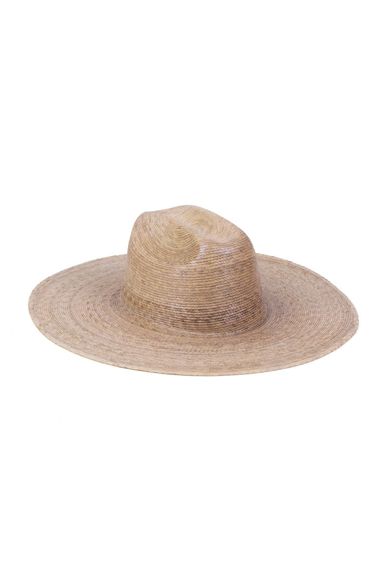 Natural Palma Wide Western Fedora