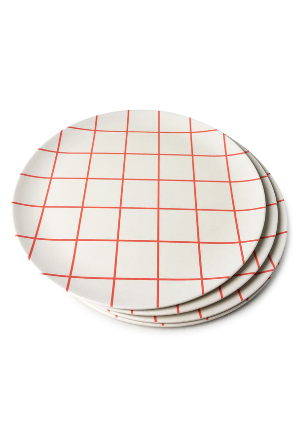 Schoolhouse Dinner Plate Set