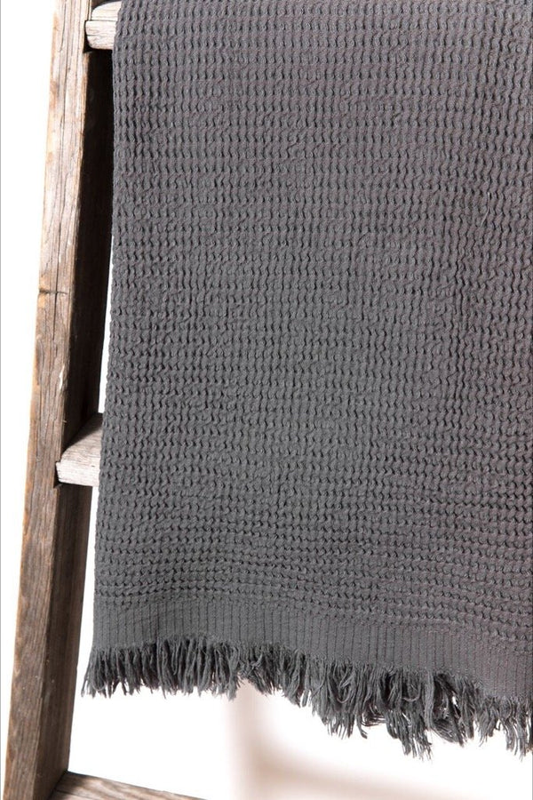 Ella Anthracite Towel