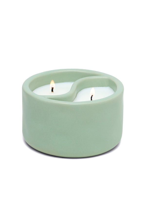 Green Tea + Aloe Yin Yang Candle
