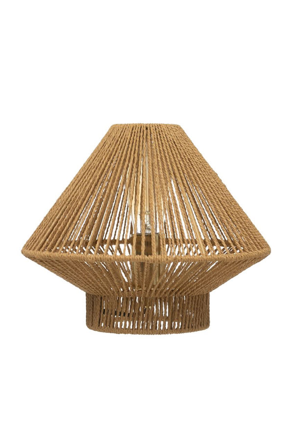 Jute String Table Lamp