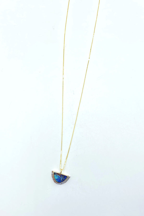 Azurite Selene Necklace