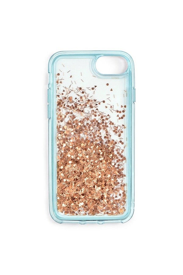 2c008467b4 Ice Blue Glitter Bomb iPhone Case ...