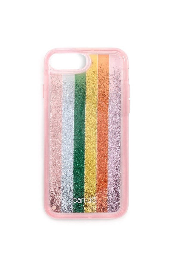 Color Wheel Glitter Bomb iPhone Case