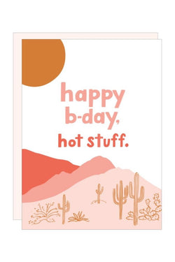 HBD Hot Stuff Card