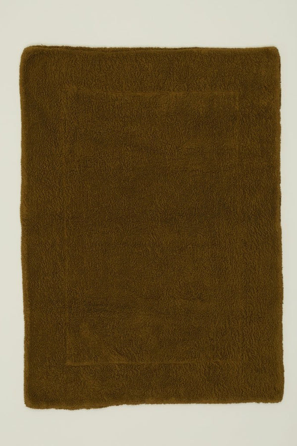 Bronze Simple Terry Bath Mat