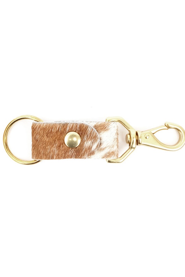 Caramel Speckled Keychain