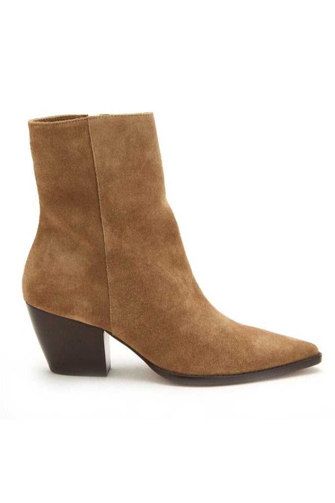 Taupe Suede Caty Boot