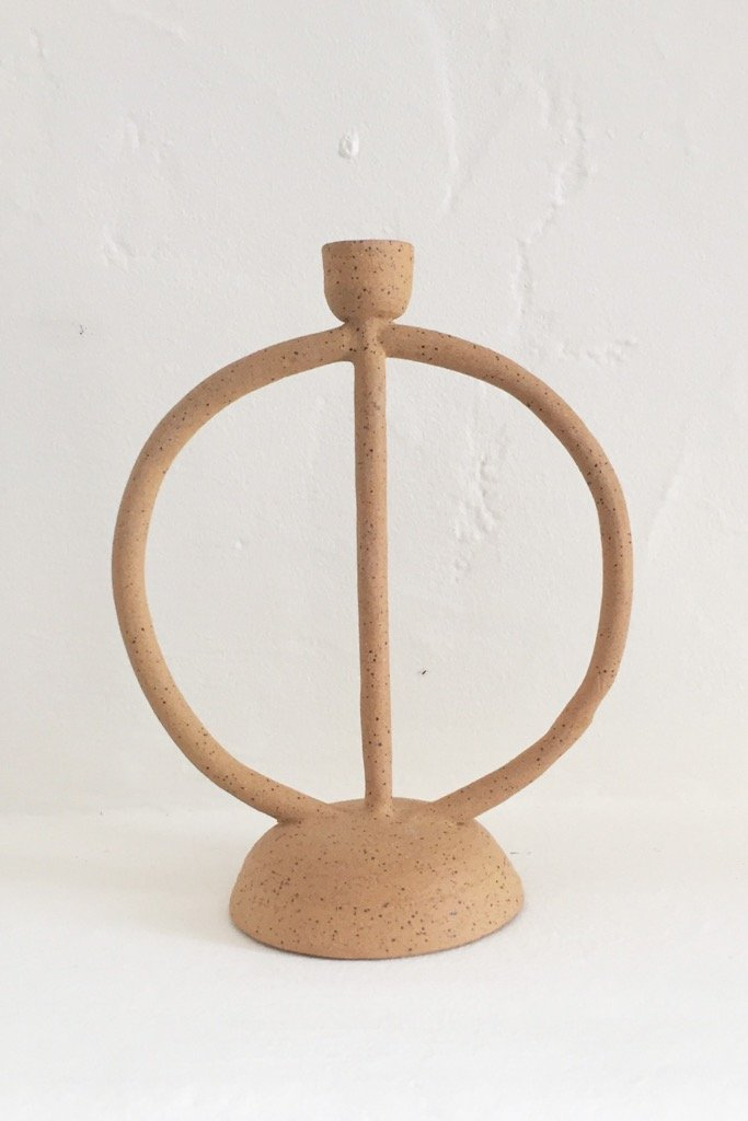 Circle Tree Of Life Candlestick