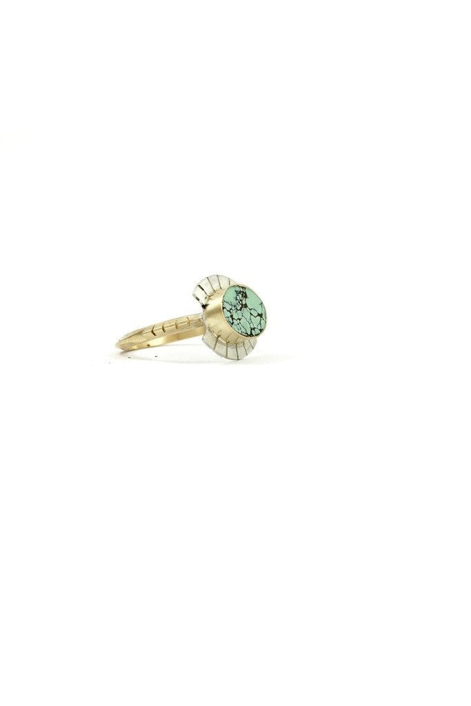 14K Gold Lash Ring
