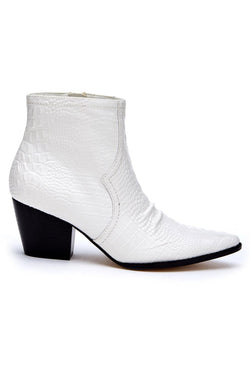 White Devon Boot