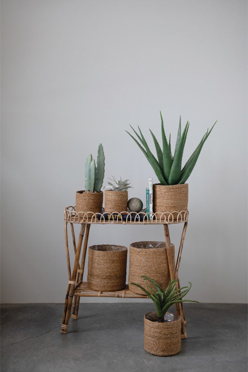 Seagrass Plant Basket