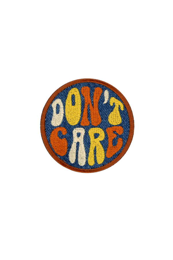 Denim Don't Care Patch