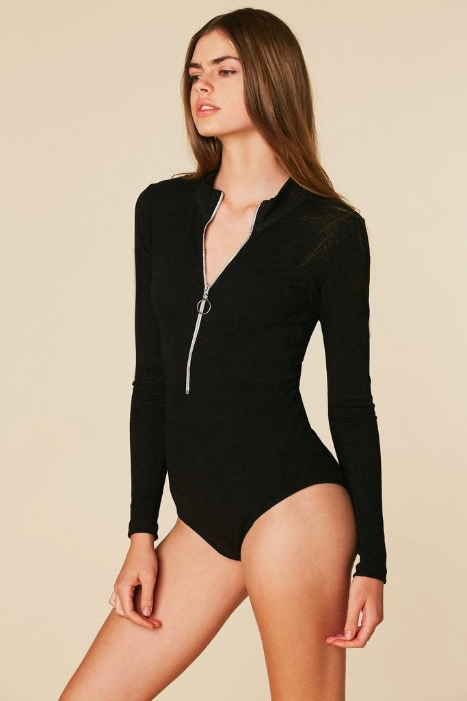 Moffitt Turtleneck Bodysuit
