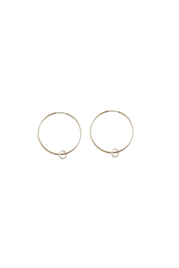 Gold Sidekick Hoops
