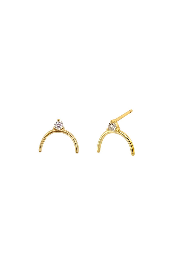 Rhinestone Evie Earrings