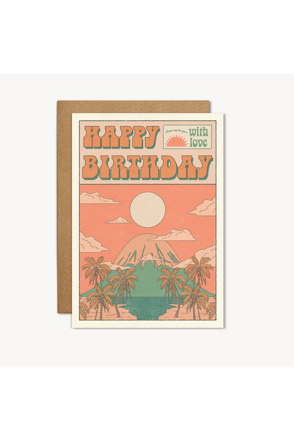 Happy Birthday With Love Card