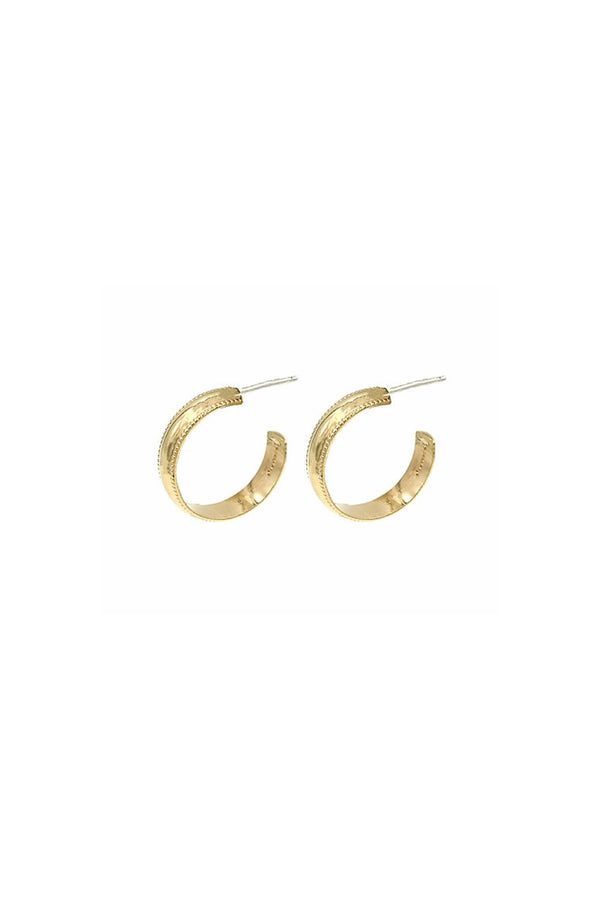Gold Guild Hoops
