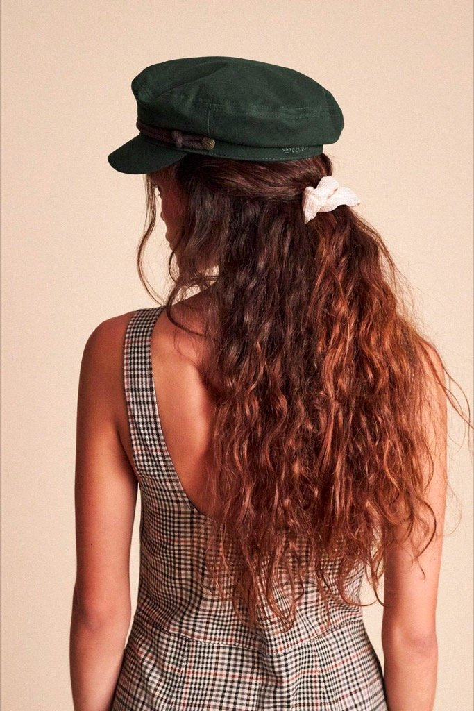 Hunter Green Fiddler Cap