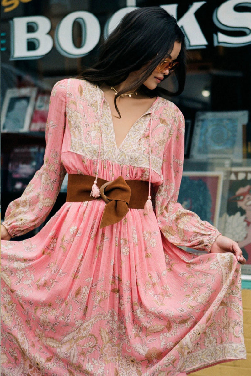 Dusty Pink Hendrix Dress