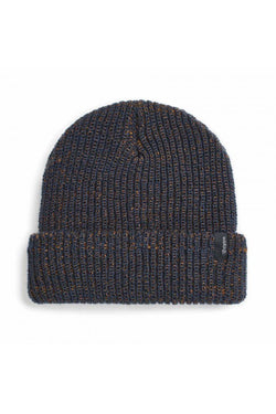 Washed Navy Copper Filter Beanie