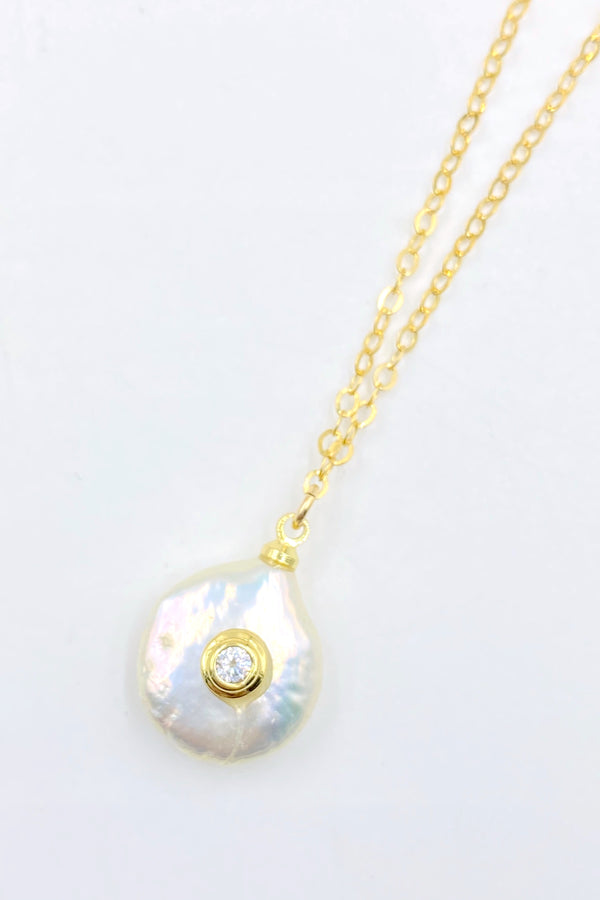 Gold Freckle Necklace