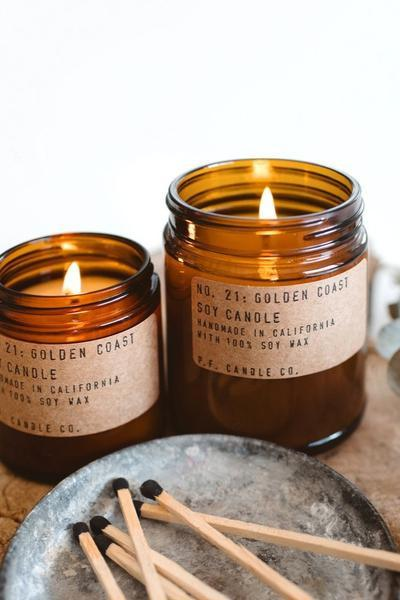 Mini Golden Coast Candle