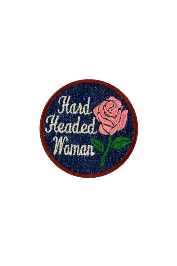 Pink Hard Headed Patch