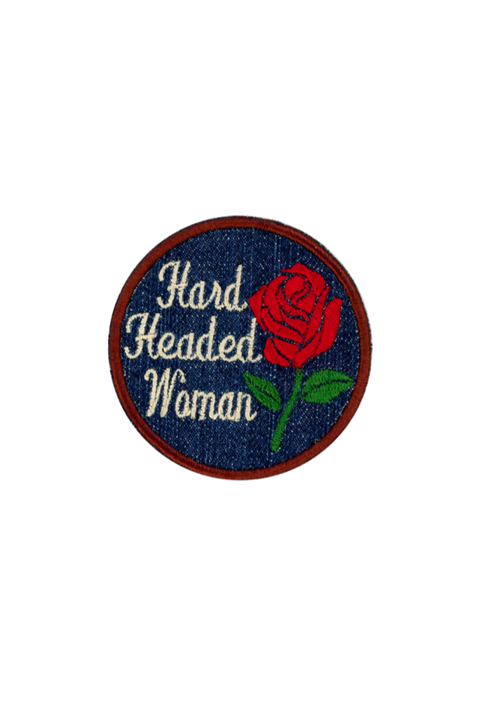 Red Hard Headed Patch