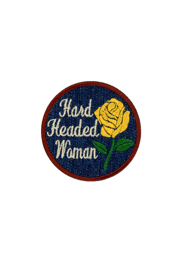 Yellow Hard Headed Patch