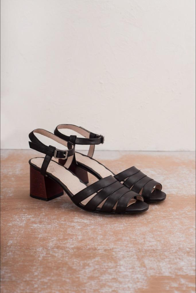 Black Harper Sandals