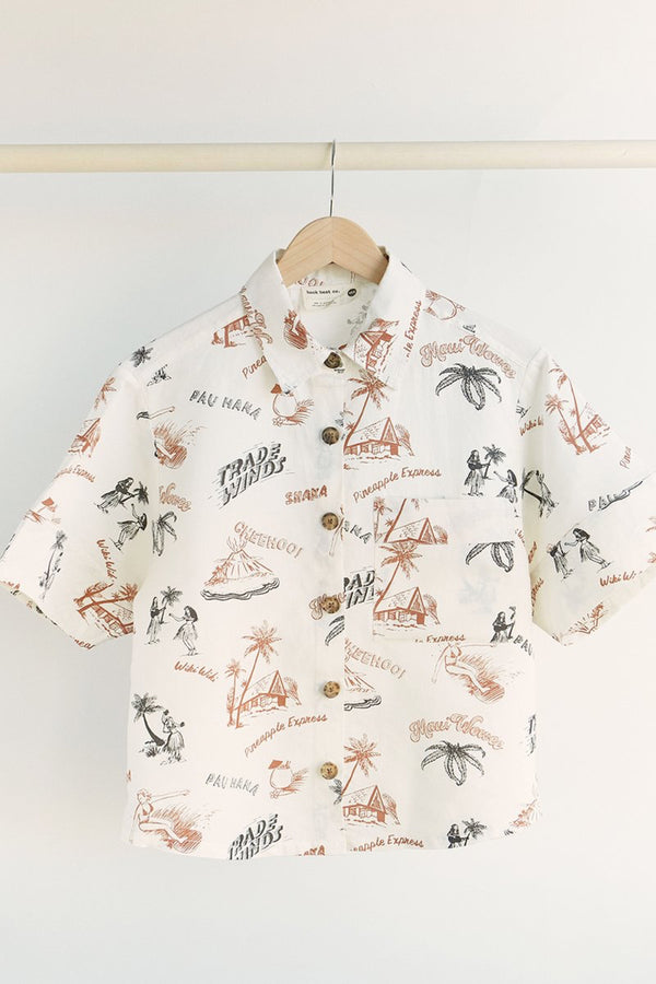 Hawaiian Pajama Top