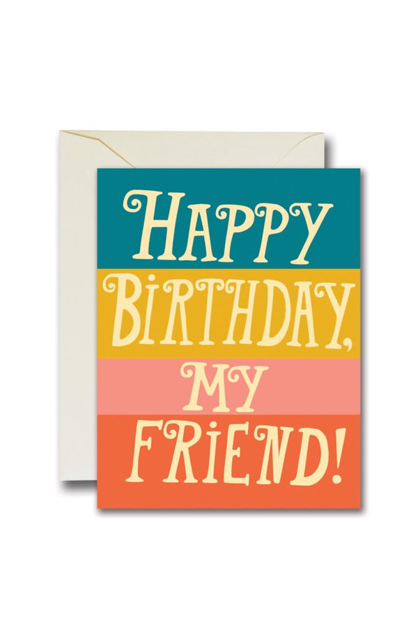 HBD Friend Card