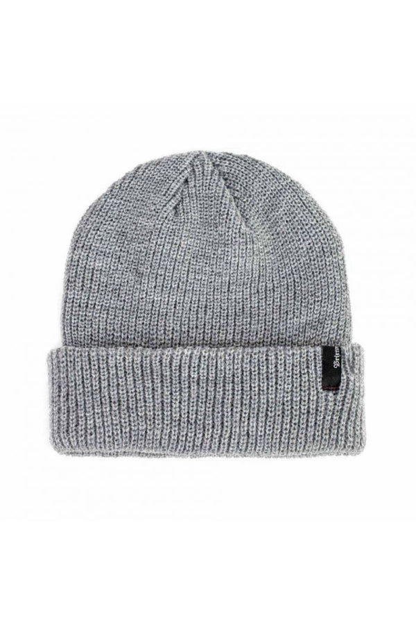 Light Heather Grey Heist Beanie