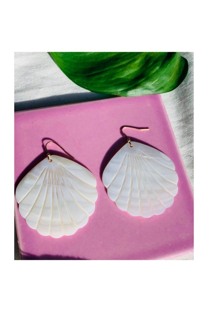 Shell Catalina Earrings